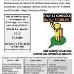 Intervention DNSI37 du 15-01-13 à 14h au social de La Rabière (Joué-les-Tours)