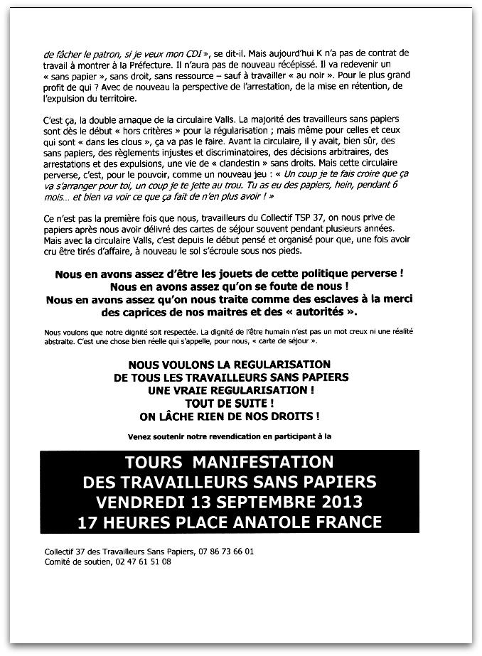 Tract manif CTSP37 du 13-09-13-2