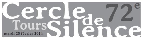 Logo 72e cercle de silence
