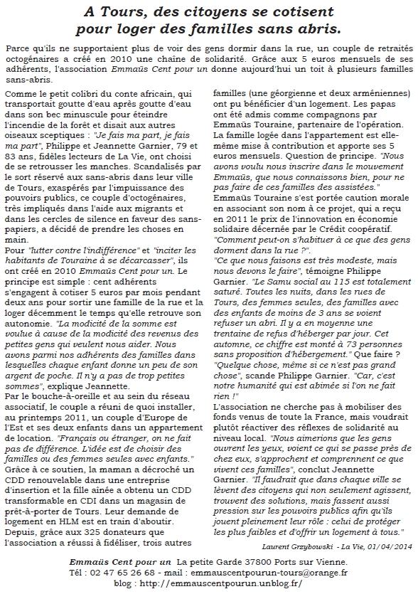 Bulletin 6 Cercle de Silence de Tours 3