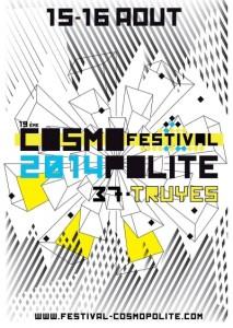 Affiche Festival Cospomolite 2014
