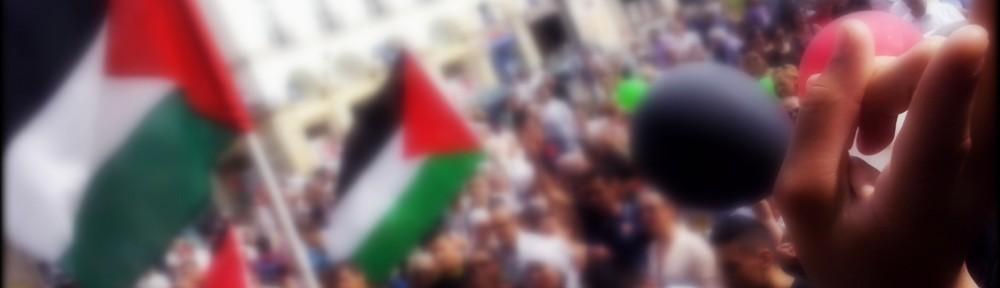 Arrivée manifestation du 19 juillet 2014 Tours