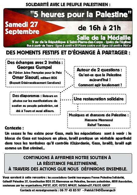 Tract Palestine 27 septembre
