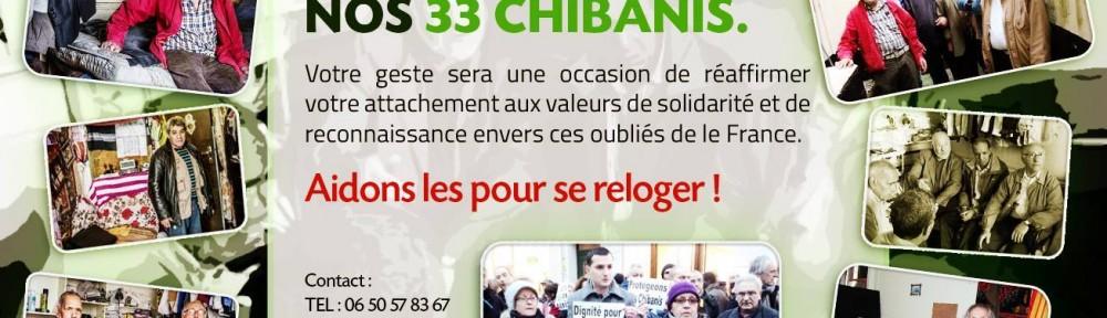 Site de la collecte Solidarité avec les Chibanis