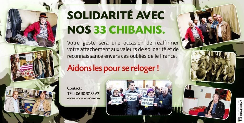 Solidarité avec les Chibanis du Fbg St Honoré