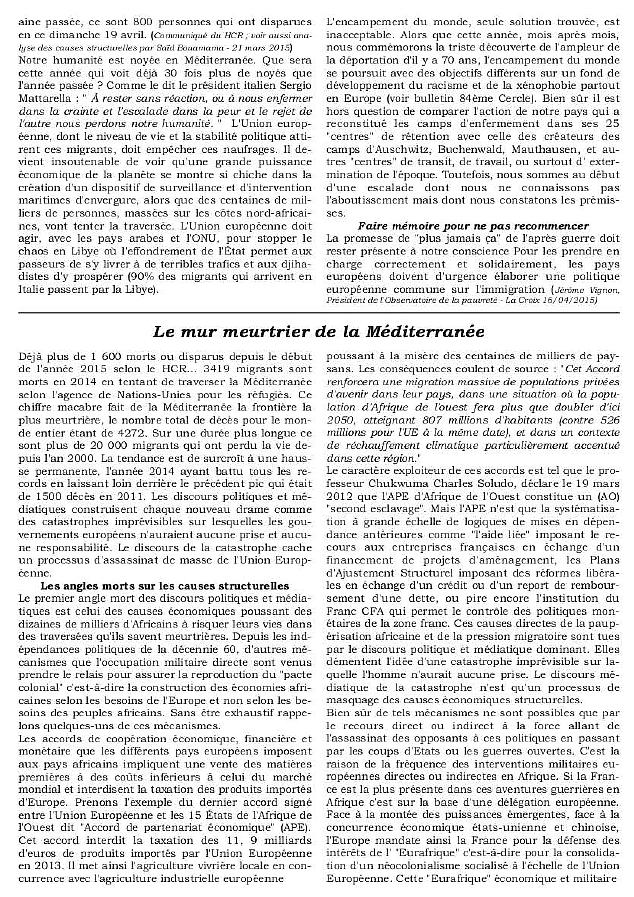 Bulletin CDS Les Damnés de la Mer p2