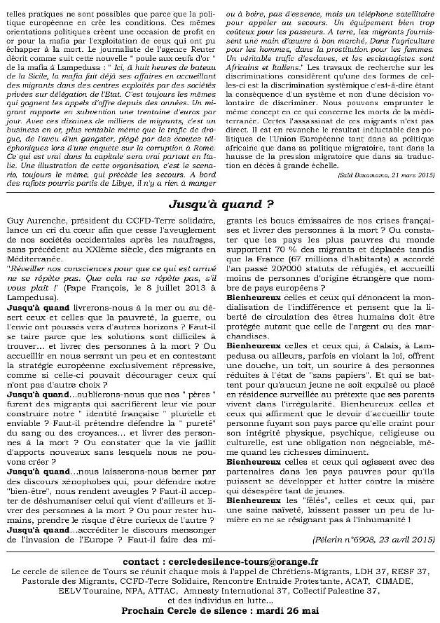 Bulletin CDS Les Damnés de la Mer p4