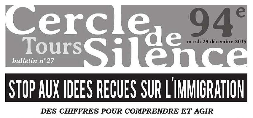 Bandeau Bulletin 27 Cercle de Silence de décembre