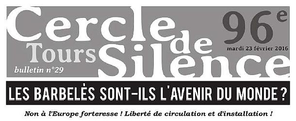 Bandeau Bulletin 96ème Cercle de Silence